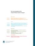 United Nations Global Compact Ten Principles