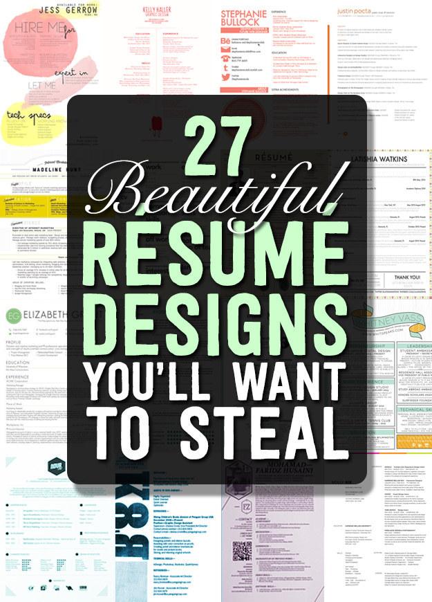 27 Resumes