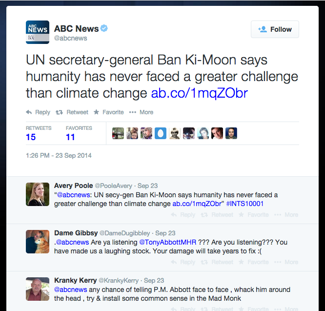 Ban Ki Moon Warning