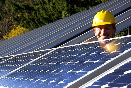 Mah solar panels bring all da boys to the yard...