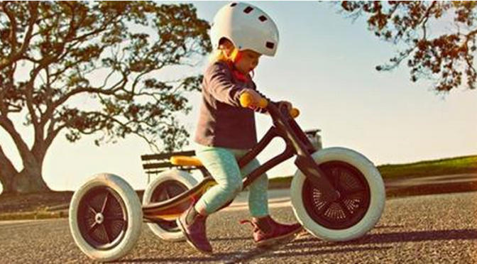 New Zealand is turning carpet into kids bikes