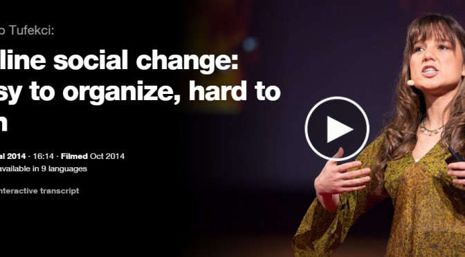 TED Talk: Can Social Tech change the way we look at CSR?