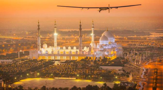 The world's first solar flight attempt is in the air!