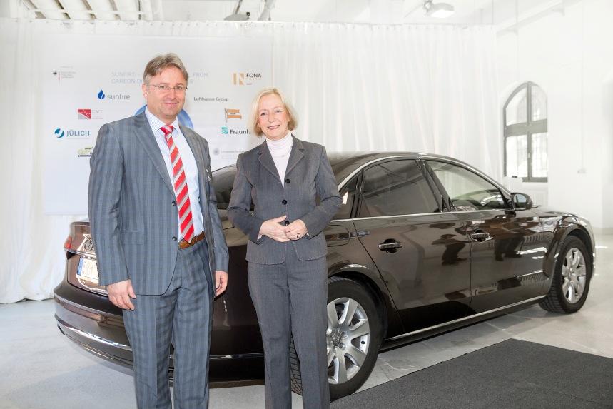 Sprit der Zukunft: Forschungsanlage in Dresden produziert erste Menge Audi e-diesel