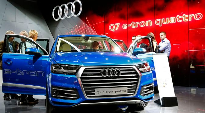 Audi's new e-diesel is made of air & water