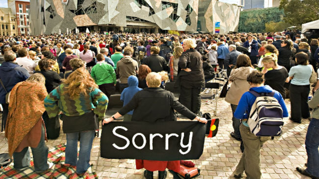 Did you know it was National Sorry Day yesterday?