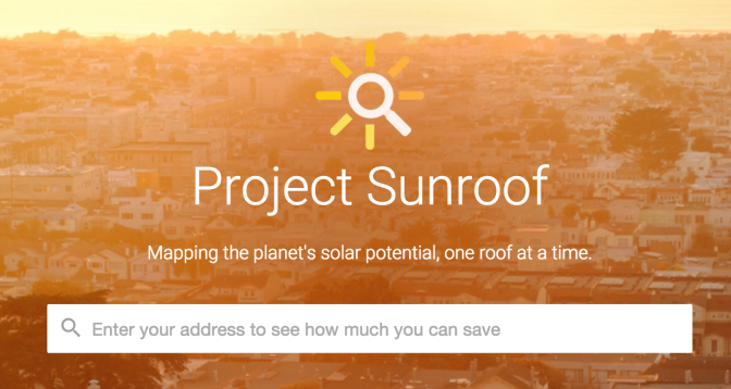 Google lights up the sky with Project Sunroof